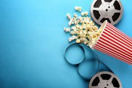 tasma filmowa popcorn