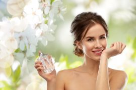 kobieta wiosenny zapach
