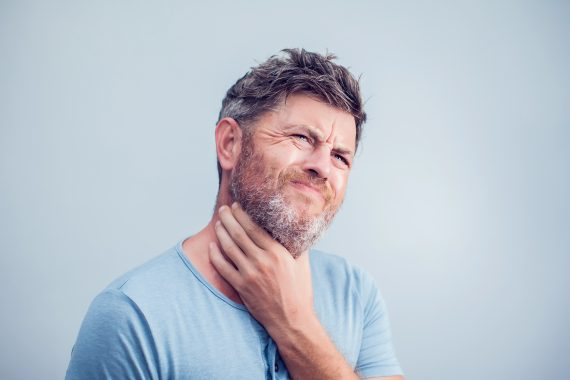przewlekły ból gardła